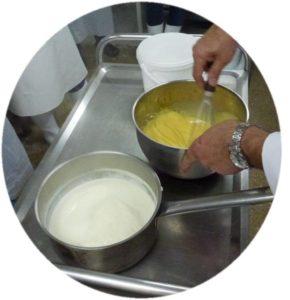 Formation desserts lactés