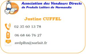 Justine CUFFEL - 02 35 60 13 78